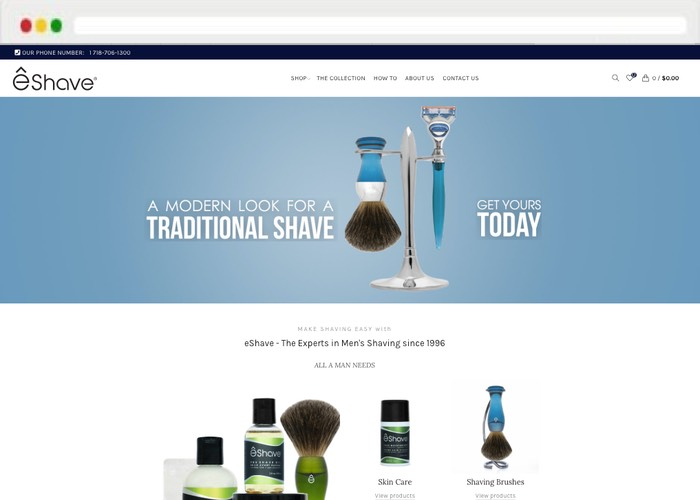 Website creation Feature Eshave